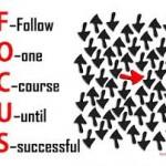 focus until succes