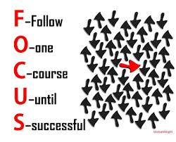 focus until succes